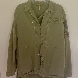 Free People Combat Jacket